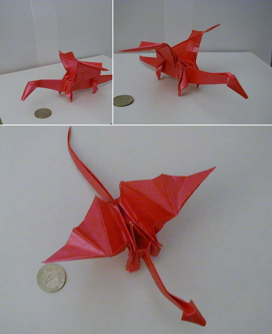 Origami instructions dragon step by step educational fun for the origami animals jeuxipadfo Gallery