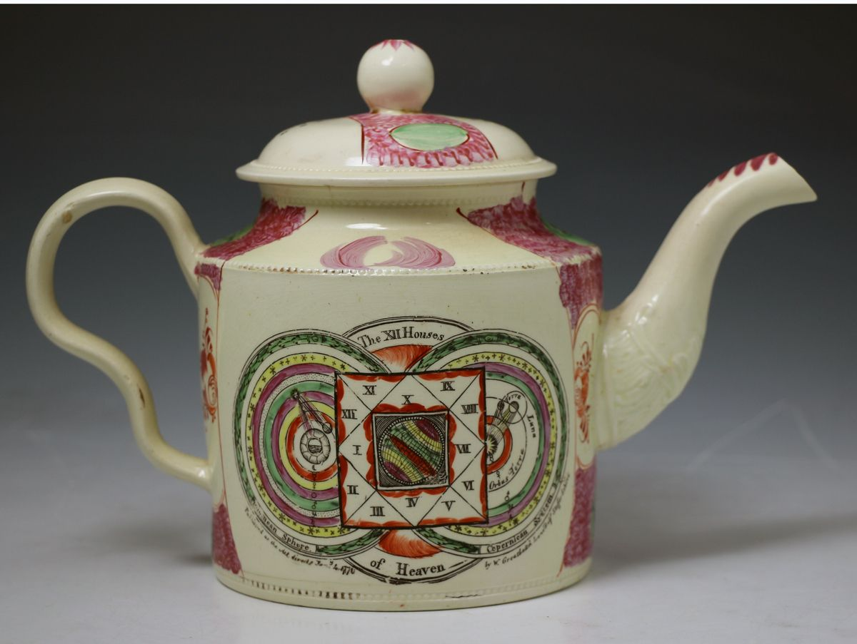 William Greatbach creamware Staffordshire circa 1775