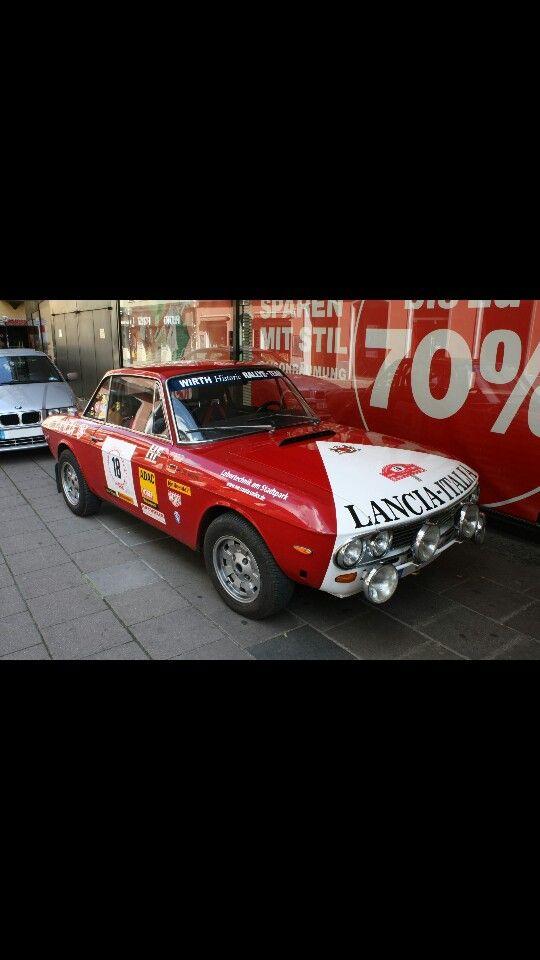 Lancia fulvia seconda serie rally