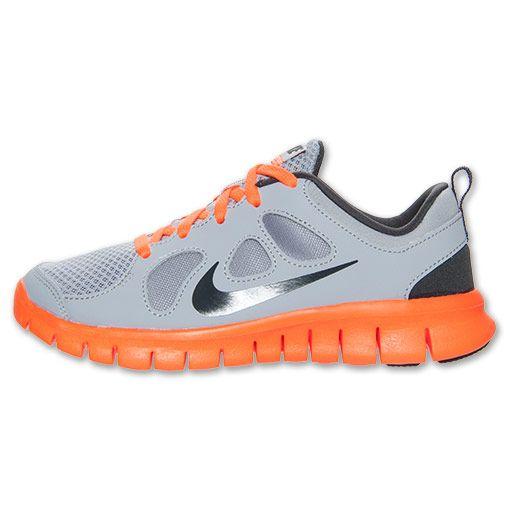 quality design ba150 cbaa6 Boys Preschool Nike Free Run 5 Running Shoes  FinishLine.com  Wolf  GreyTotal OrangeWhite