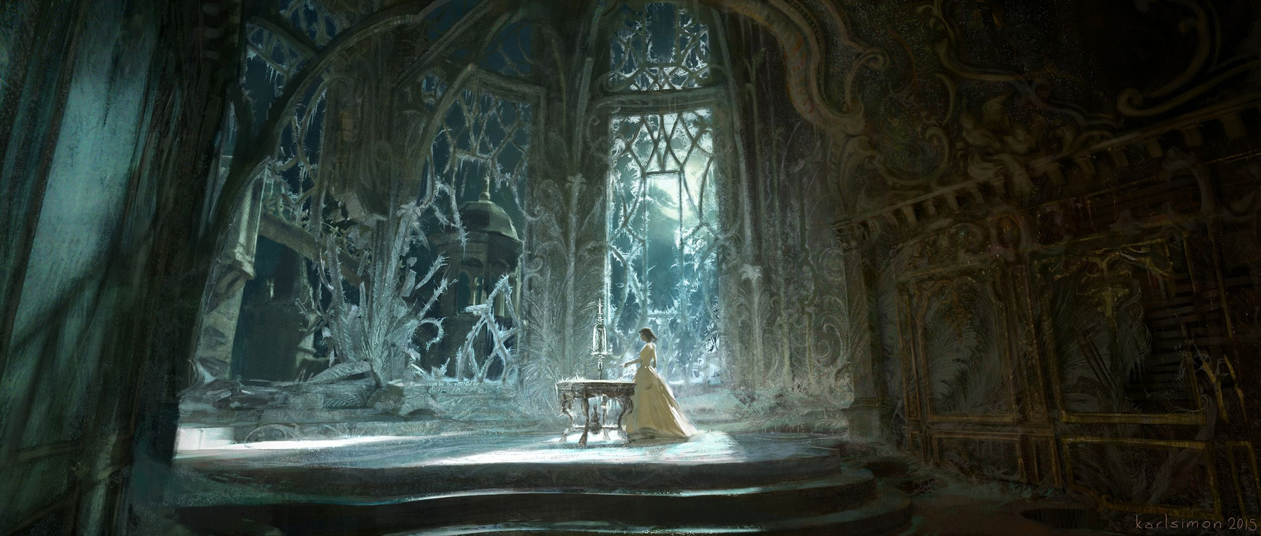 The Art Of Beauty And The Beast Beauty And The Beast Art Disney