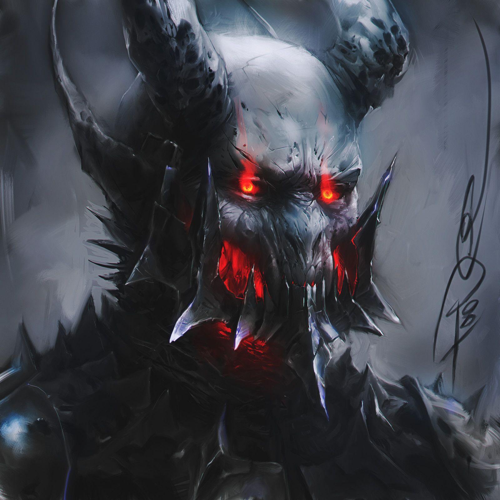 Прикольные картинки про демонов, наложить гиф