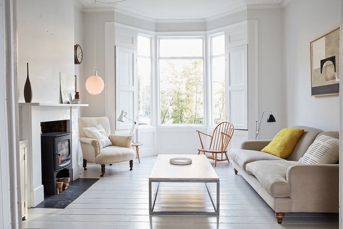 Victorian House In Stoke Newington Knock Through Living Room With