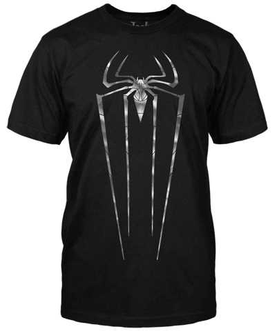 SPIDER-MAN T-SHIRT - THE AMAZING SPIDER-MAN SHIMMER LOGO | Jack of all Trades Clothing available online!