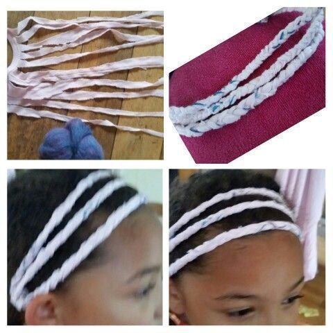 crotchet braids #crotchetbraids This would also be fab for the gym!! I just made my daughter a super...
