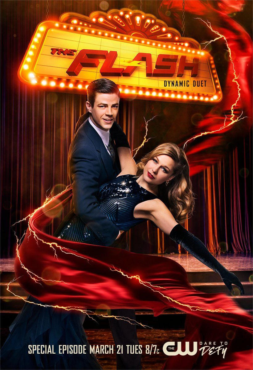 Theflash And Supergirl Team Up For A Special Episode Tuesday At 8 7c On The Cw Supergirl And Flash Flash Musical The Flash Grant Gustin