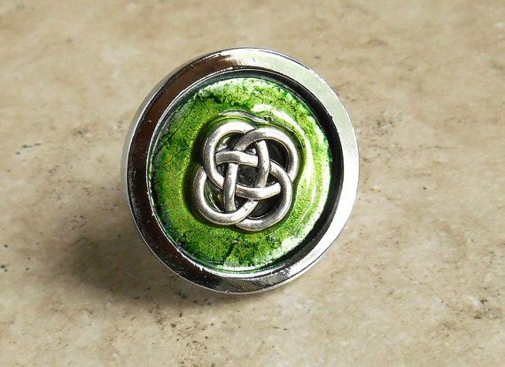 Wonderful Drawer Pull Celtic Cabinet Knob Cabinet Pull By NatureWithYou, $10.00