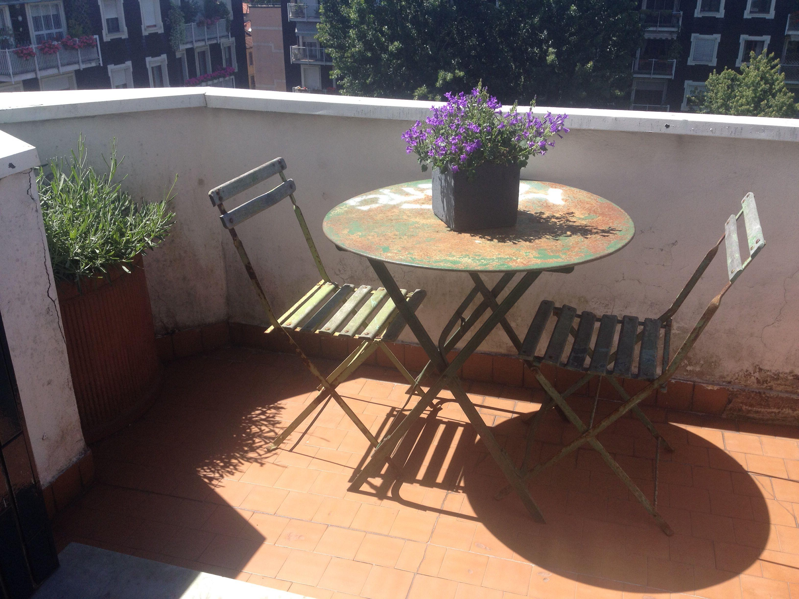 Fedele sedie ~ Tavolo e sedie da giardino in ferro provenienza costa azzurra
