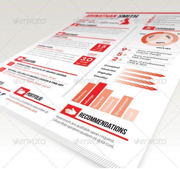 Resume / CV Cover Letter Set 01 to Pinterest Cv resume