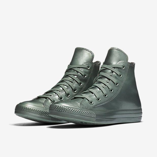 21be47a3640 Converse Chuck Taylor All Star Metallic Rubber High Top Women s Shoe ...