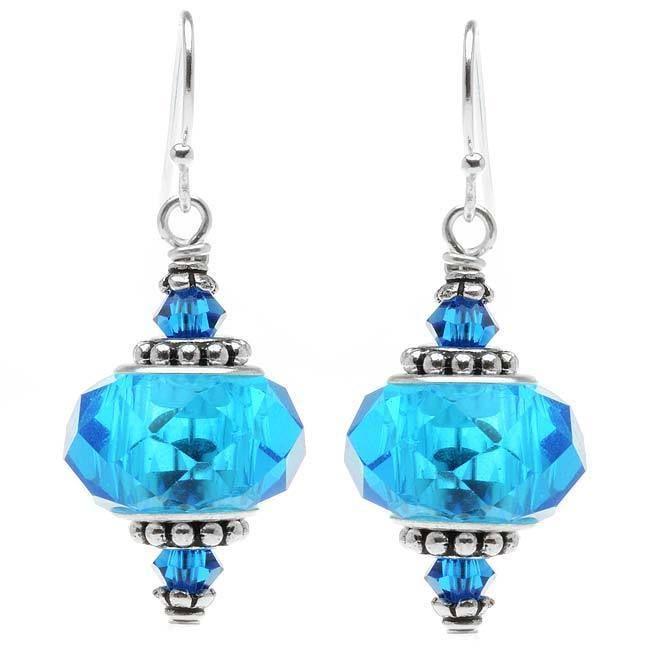 Talia Earrings (blue) - Exclusive Beadaholique Jewelry Kit