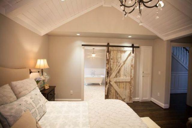 Weißes Bauernhaus Keller Schlafzimmer