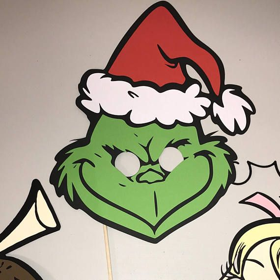 Ambitious image inside grinch mask printable