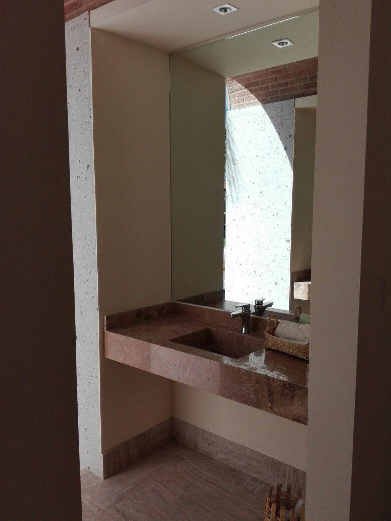 Lavabo marmol trabajos marmol granito y onix pinterest for Lavabo marmol