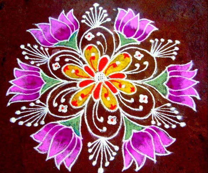 Beautiful Rangoli Designs Rangoli Beautiful rangoli