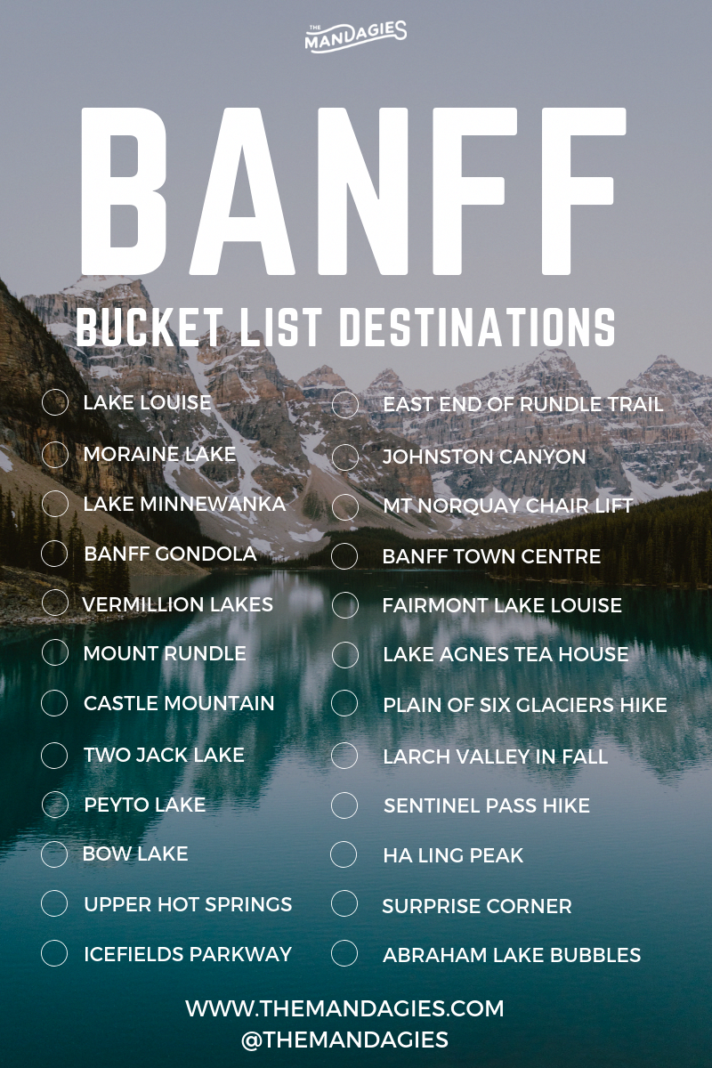 20 Adventurous Things To Do In Banff, Canada | The