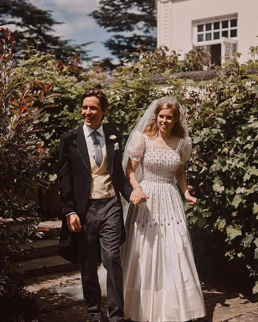 Windsor Berkshire Prinzessin Beatrice Prinzessin Hochzeit Braut Portraits