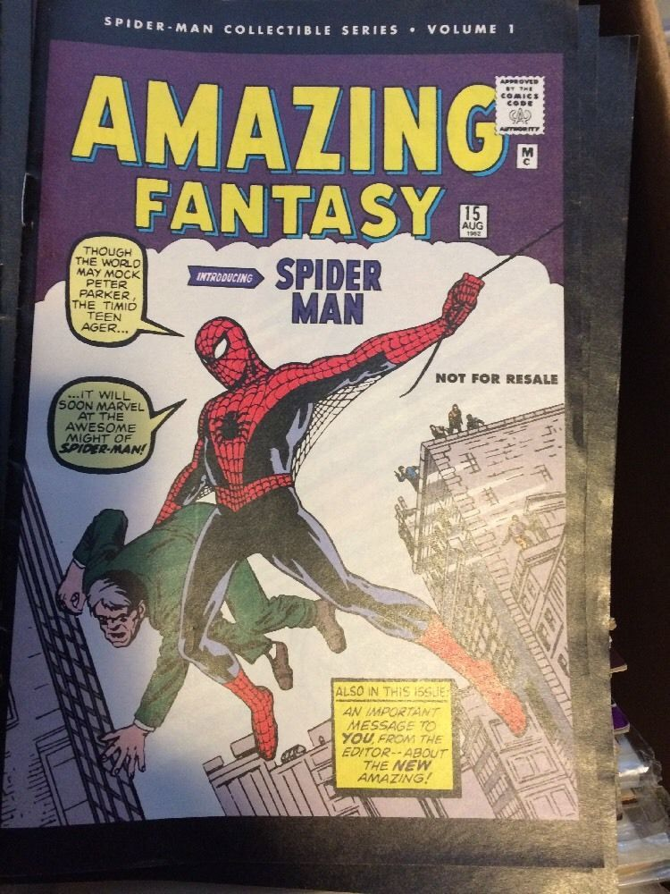 AMAZING SPIDER MAN #1-24 COMPLETE COLLECTIBLE SERIES