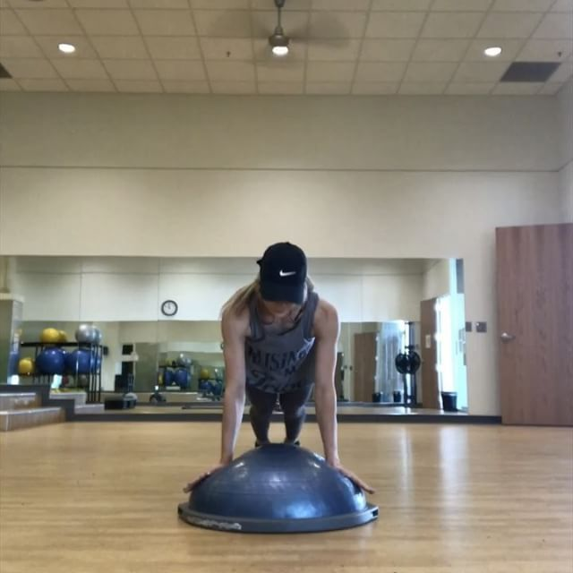 Bosu Ball Hiit: Pin By Marylou Hanks On Mind And Body