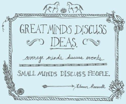 Such an abundance of small minds :(