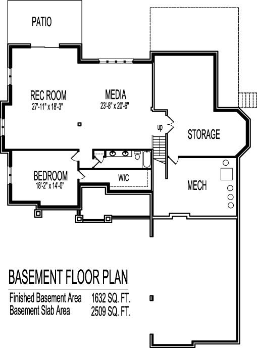 6 Bedroom 2 Story House Plan House Plans 2 Storey Building
