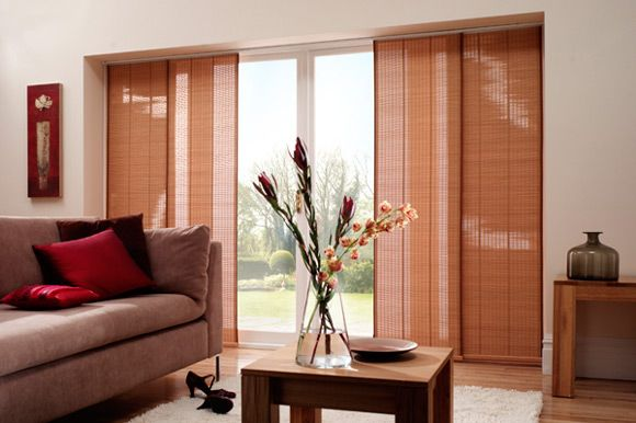 Great Panel Track Blinds And Sliding Panel Shades Are Becoming A Popular  Alternative To Regular Vertical Blinds