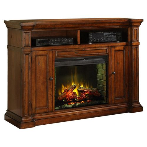 Berkshire Solid Wood Tv Stand For Tvs Up To 65 With Fireplace Included Legends Furniture Electric Fireplace Tv