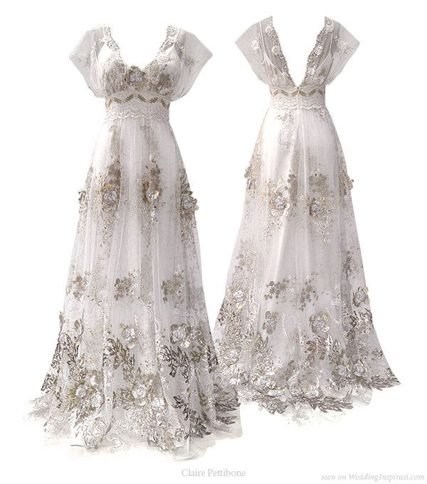Claire Pettibone Wedding Gowns: Claire Pettibone Cherry Blossom 2010 Bridal Collection In