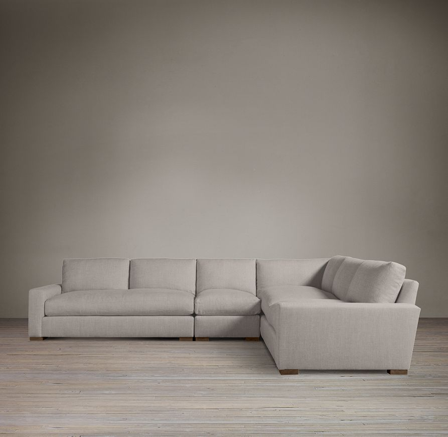 Restoration Hardware Maxwell Sectional Sectional Restoration