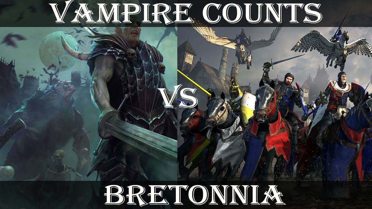 Total War: Warhammer - Bretonnia Gameplay FIrst Look! vs
