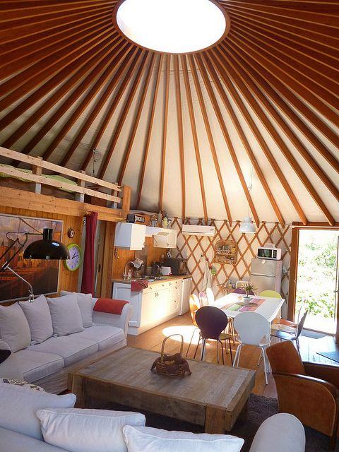y3 coulonges sur sarthe yourte contemporaine yourte contemporain et cabanes. Black Bedroom Furniture Sets. Home Design Ideas