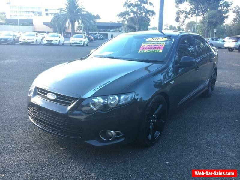 Car For Sale 2012 Ford Falcon Fg Mkii Xr6 Turbo Black Automatic A
