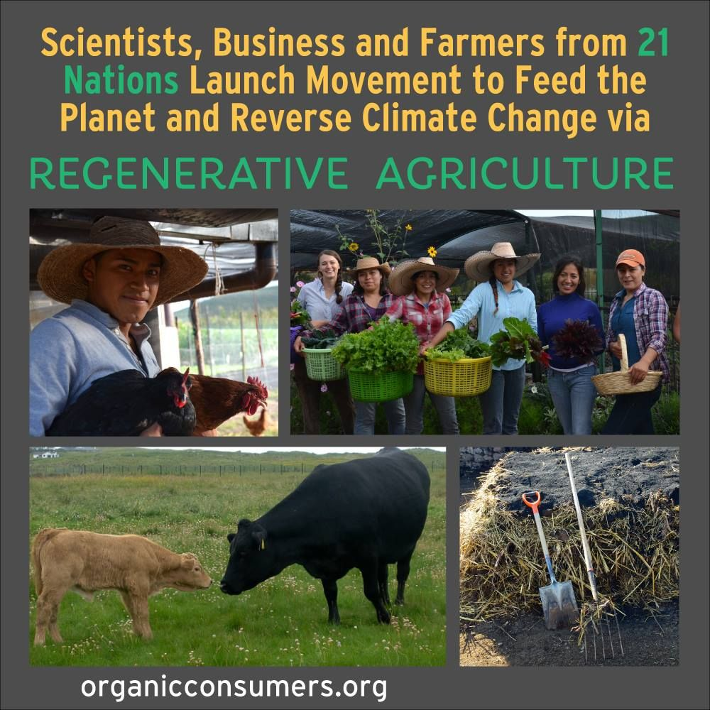 Scientists, Business and Farmers from 21 Nations Launch