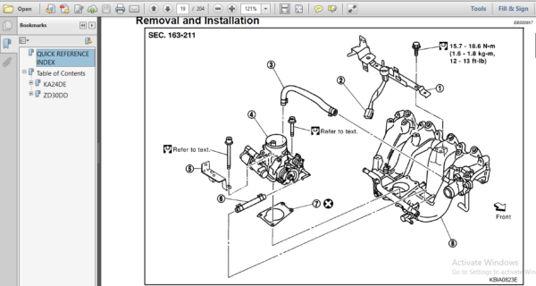 Nissan Zd30dd Ka24de Engine Workshop Repair Manual In 2020 Repair Manuals Repair Nissan