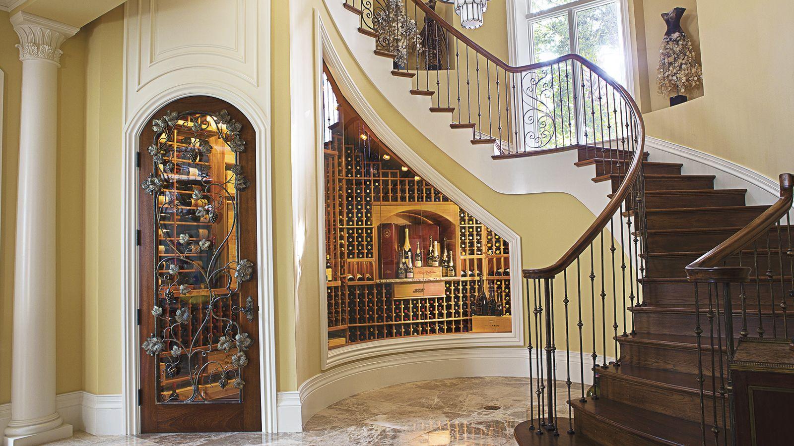 Best Wine Cellar Built Under The Stairs Under Stairs Wine 400 x 300