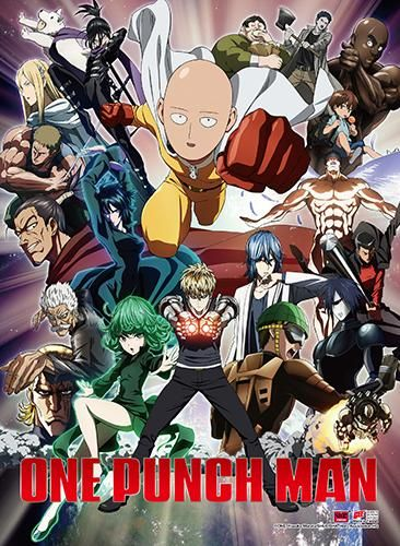 One Punch Man – Key Art 2 High-End Wall Scroll [PreOrders SoldOUT] 4K