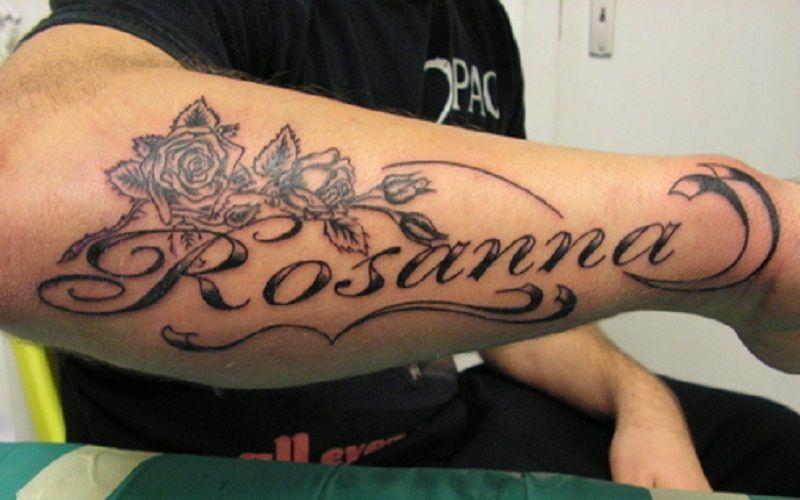 Baby Name Tattoos On Arm Men Names Tattoos For Men Name Tattoos