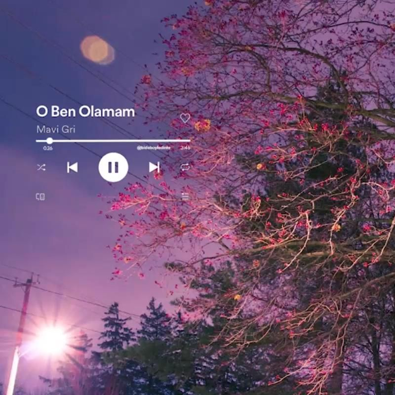 Mavi Gri O Ben Olamam Video In 2021 Romantic Songs Video Song Playlist Beautiful Nature Pictures
