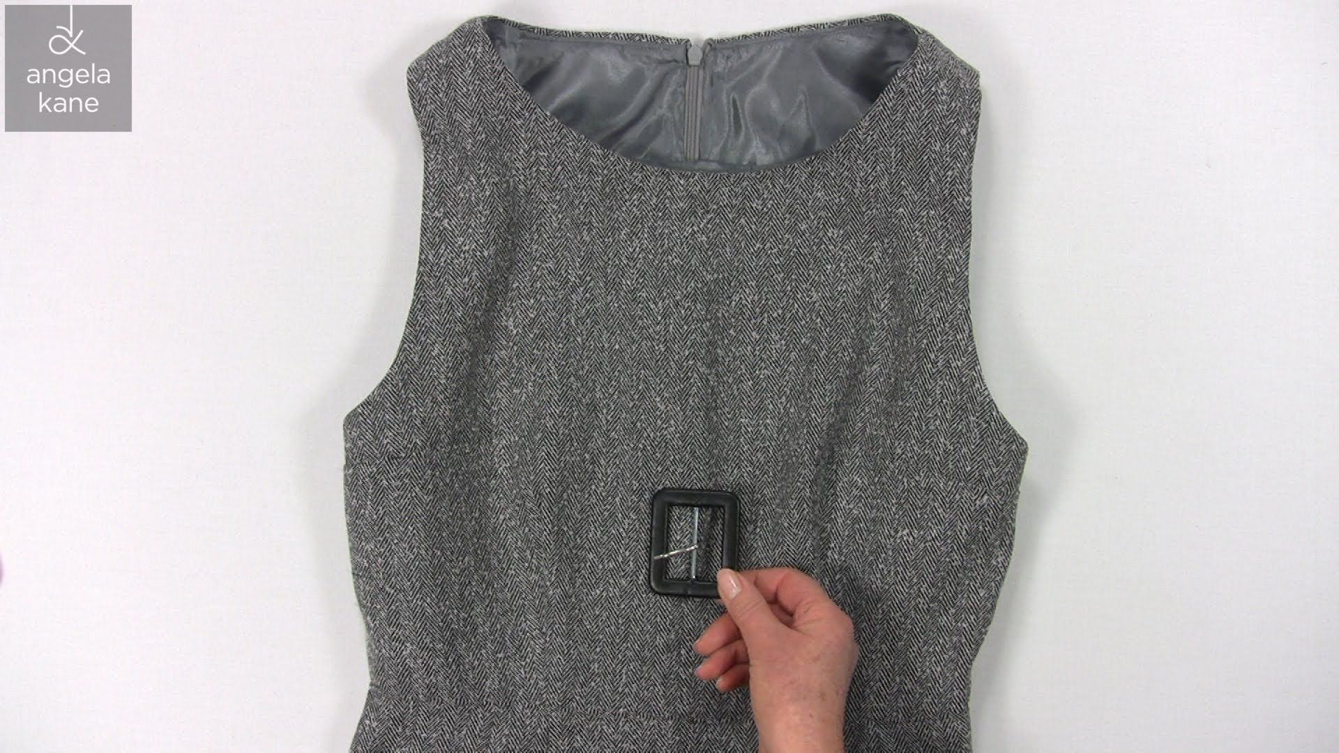 Make a Dress with a Lining - Dressmaking from Angela Kane - Part 8 ...