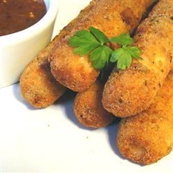 Home-Fried Cheese Sticks Allrecipes.com