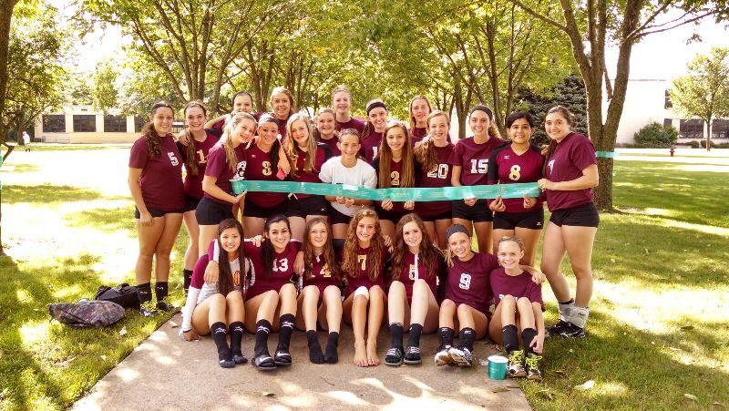Morris Community High School - Lady Redskins Support Ovarian ...