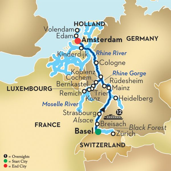 Rhine River Cruise Map Pin by Becky Jones on Rhine River Cruises | Rhine river cruise  Rhine River Cruise Map