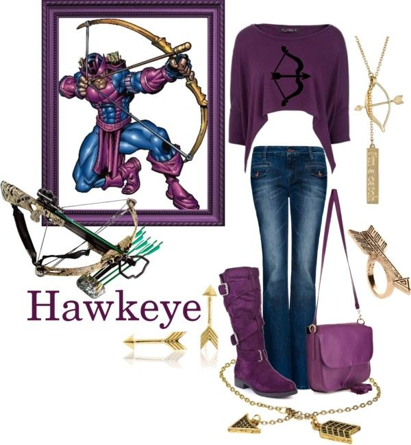 """Hawkeye"" by pandacat on Polyvore"