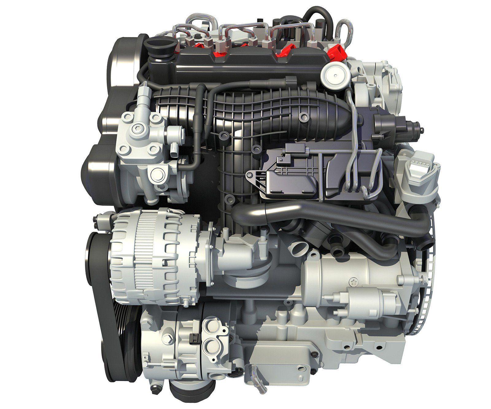Diesel Engine 3d Model Diesel Engine Volvo Diesel Diesel