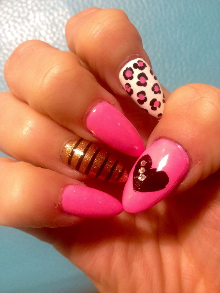 Valentines Nails So Cool!!!