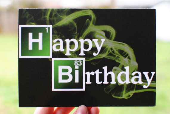 Breaking Bad 7x5 'Happy Birthday' Periodic Chemical por BreakingRad