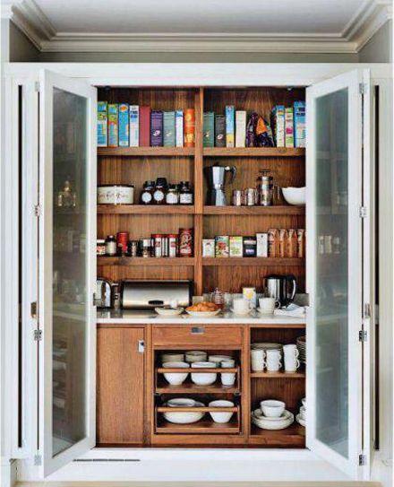 Macassar Breakfast Cupboard Schrank Design Luxuskuchen Kuchenschranke Und Regale
