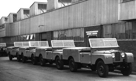 """Series 1, 109"""" LHD Pick-up models ready for despatch"""