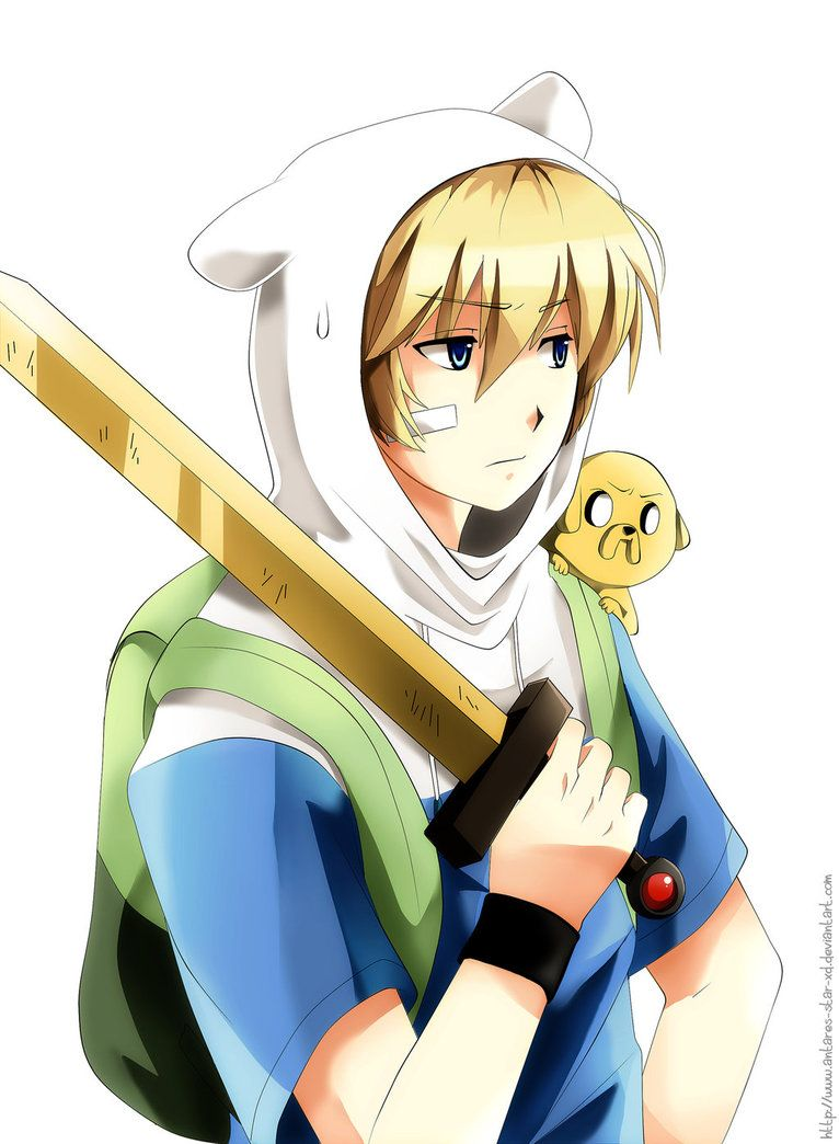 Anime Finn And Jake My Shows Adventure Time Anime Adventure