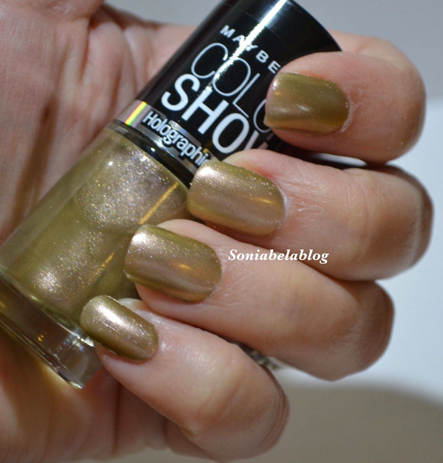 MAYBELLINE COLOR SHOW - HOLOGRAPHIC - ALLURING ROSE - NAIL POLISH ...